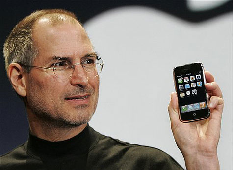 iPhone y Steve Jobs