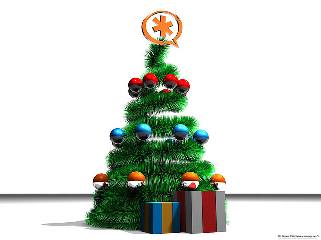 asterisk-christmas-tree